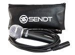 Sendt SVM80 Professional Microphone with 10 Foot Sendt XLR and Carrying Case